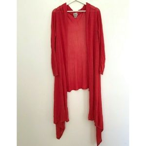 Chico's Size Medium Large Long Cardigan Sweater